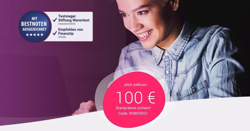 Quirion: 100€ Startprämie beim Abschluss eines ETF Sparplans ab 50€ mtl.