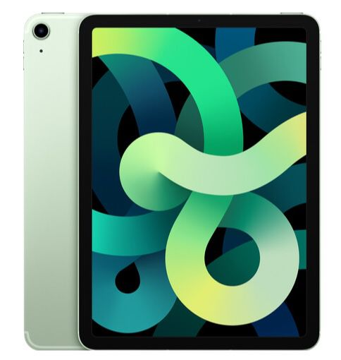 Apple iPad Air (2020) 64GB WiFi + 4G in Grün für 631,34€ (statt 729€)