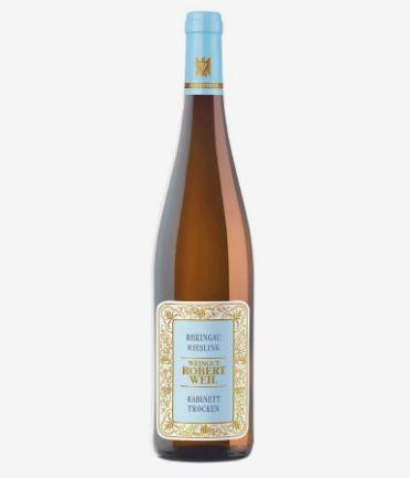 3 Flaschen Weingut Robert Weil Rheingau Riesling Kabinett trocken für 45,63€ (statt 57€)
