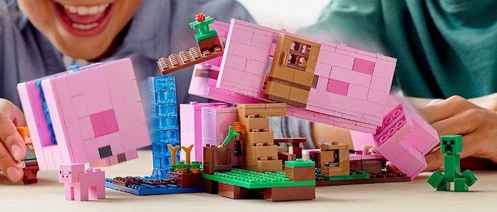 LEGO Minecraft 21170 Das Schweinehaus für 31,99€ (statt 40€)