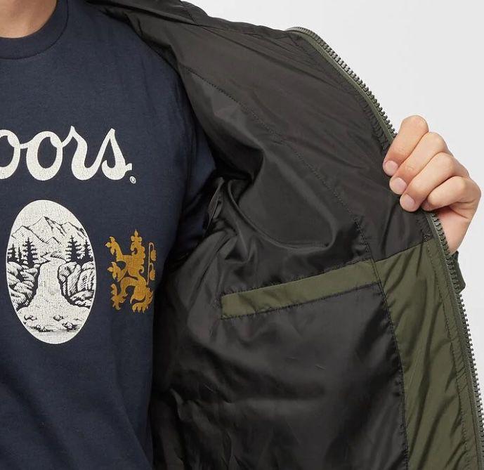 Urban Classics Hooded 2 Tone Puffer Jacke für 23,99€ (statt 53€)