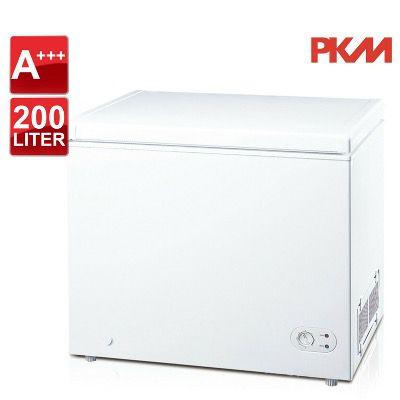 PKM Gefriertruhe GT 200A+++ mit einem Bruttoinhalt von 200 Litern für 299,90€ (statt 363€)