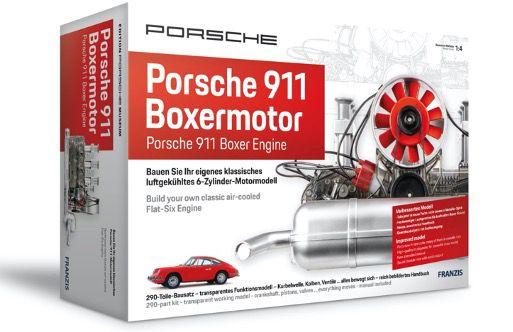 Franzis Bausatz Porsche 911 Boxermotor ab 114,99€ (statt 143€)