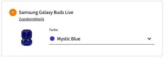 Samsung Galaxy Note20 + Galaxy Buds Live für 49€ + Telekom Flat mit 10GB LTE für 26,99€mtl.