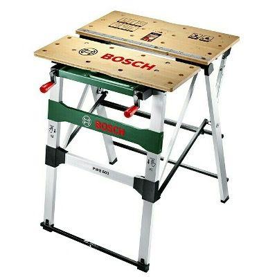 Bosch Spann- und Arbeitstisch PWB600 (Arbeitshöhe 83,4cm, Arbeitsfläche 68x68cm) für 119€ (statt 150€)
