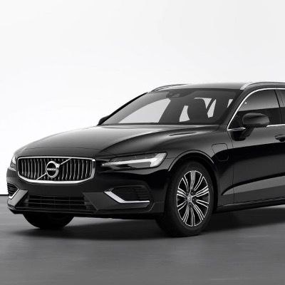 Gewerbe: Volvo V60 T6 Hybrid Recharge Inscription Expression inkl. Wartung mit 340PS für 193,93€ netto – LF 0,48