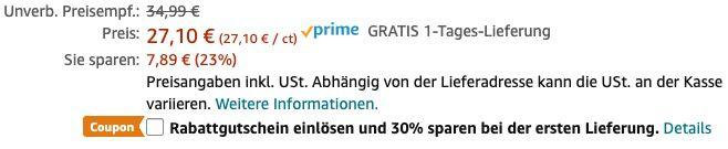 3er Pack Philips OneBlade QP230/50 Ersatzklingen ab 17,61€ (statt 28€)