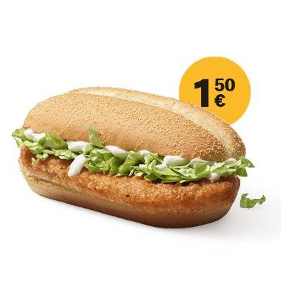McDonald's Ostercountdown 2021 – heute: McChicken Classic für nur 1,50€