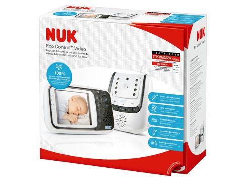 NUK Babyphone Eco Control mit Videofunktion für 124,99€ (statt 167€)