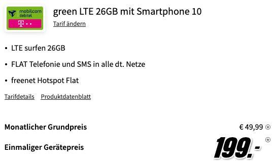 Apple iPhone 12 Pro 128GB für 199€ mit Telekom Allnet Flat inkl. 26GB LTE für 49,99€