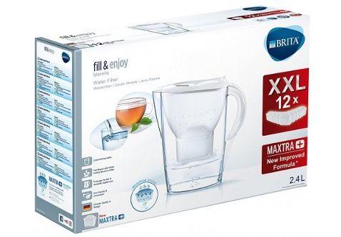Brita Marella Wasserfilter inkl. 12 Maxtra+ Kartuschen für 44,99€ (statt 53€)