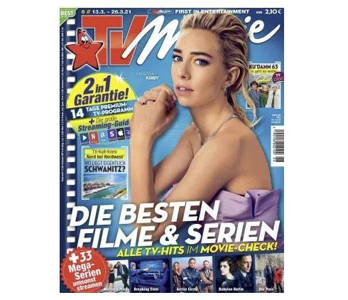 13 Ausgaben TV Movie für 33,15€ + Prämie: 30€ BestChoice Gutschein