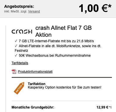 Apple Airpods Pro für 1€ + Vodafone Allnet Flat mit 7GB LTE für 12,99€ mtl.