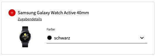 Samsung Galaxy S20 FE + Galaxy Watch Active für 49€ + Vodafone Allnet Flat inkl. 10GB LTE für 19,99€ mtl.   Gewinn!