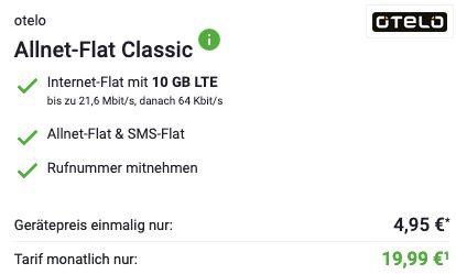 Samsung Galaxy S20 FE für 4,95€ + Allnet Flat im Vodafone Netz mit 10GB LTE für 19,99€ mtl.