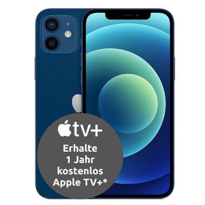Apple iPhone 12 128GB in Blau für 79€ mit Vodafone Allnet Flat inkl. 35GB LTE 5G für 39,99€   GigaKombi