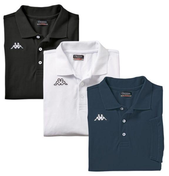 3er Pack Kappa Poloshirts aus gekämmter Baumwolle für 29,19€ (statt 40€)