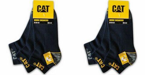 12er Pack CAT Caterpillar Work Sneaker Arbeitssocken in 3 Farben für 29,99€ (statt 37€)