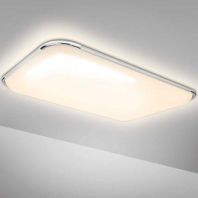 50% Rabatt auf Hengda LED Deckenleuchten   z.B. 96W für 29,99€ (statt 60€)