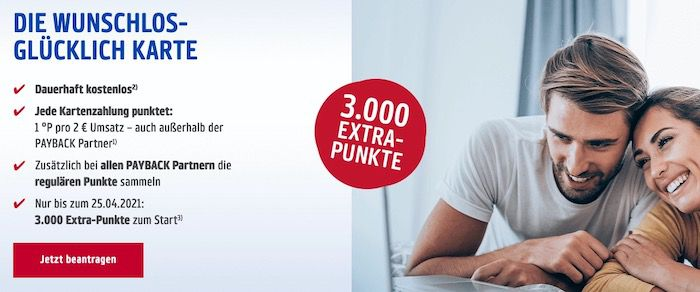 Payback American Express Kreditkarte dauerhaft kostenlos (ApplePay fähig) + 3.000 Punkte (30€) geschenkt