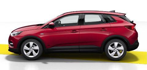 Gewerbe: Opel Grandland X Edition Plug in Hybrid mit 224PS für 83,19€ mtl.   LF 0,22