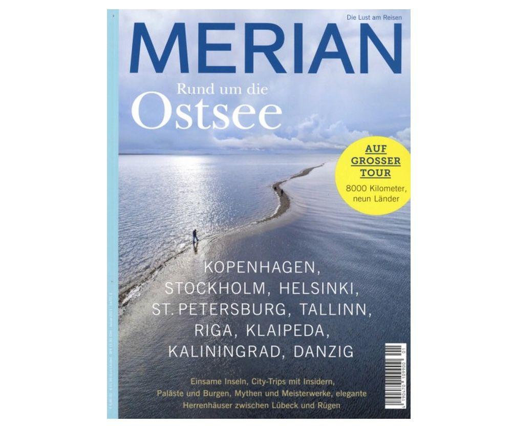 Merian Reise-Magazin im Jahresabo für 39,90€ (statt 99€)
