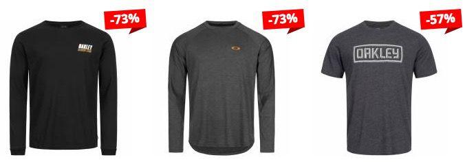 Oakley Sale bei SportSpar   z.B Oakley 50 Herren T Shirt ab 13,99€ (statt 23€)
