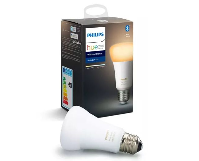 Philips Hue White Ambiance E27 Bluetooth Leuchten ab 16,90€ (statt 22€)