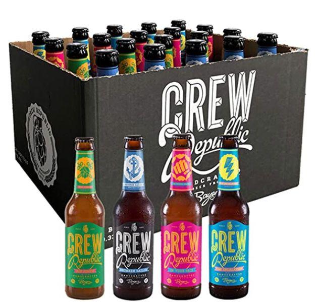 Crew Republic Craft Beer mit Prime ohne Versandkosten – z.B. 20 x 0,33L Bier Mix für 29,99€(statt 39€)