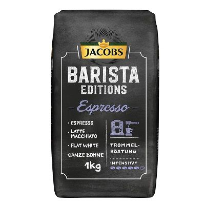 🔥 1kg Jacobs Barista Editions Espresso ganze Bohne ab 6,39€ (statt 17€) – Sparabo Prime