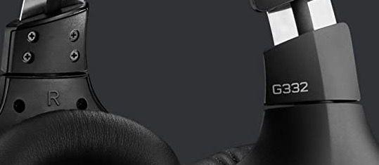LOGITECH G332 Gaming Headset in Schwarz für 25€ (statt 44€)