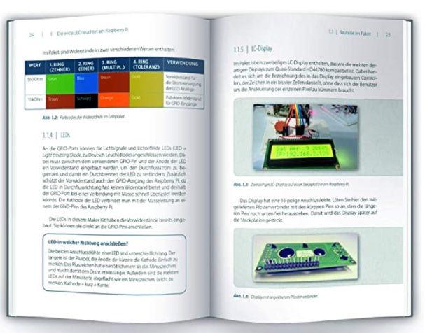 Franzis Maker Kit für Raspberry Pi 4 für 24,95€ (statt 41€)   oder 2x für 42,41€