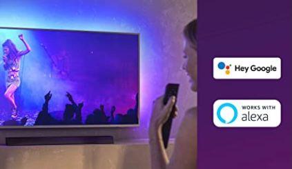 Philips 75PUS8505   75 Zoll UHD Fernseher mit 3 seitigem Ambilight für 1.099€ (statt 1.504€)