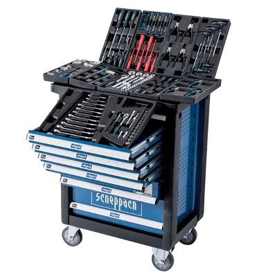 Scheppach TW1000 Premium Werkstattwagen (mit Werkzeug) für 363,90€ (statt 449€)