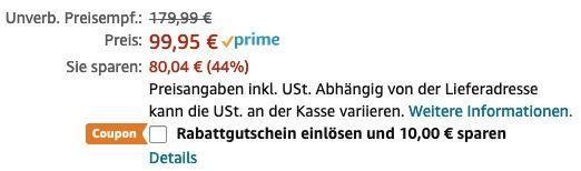 PRINCESS 182055 Aerofryer XXL 5,2l Heißluftfritteuse für 89,95€ (statt 105€)