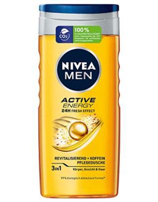 5x Nivea Men Fresh Ocean oder Active Energy Pflegedusche 250ml ab 5,42€ (statt 8€)   Prime Sparabo