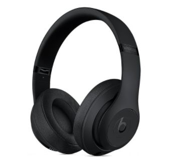 BEATS Studio 3 Wireless OverEar Kopfhörer in Schwarz für 159€(statt 196€)