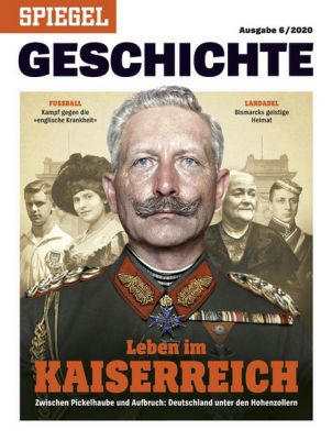 3 Ausgaben Spiegel Geschichte für 29,70€ + 30€ Gutschein