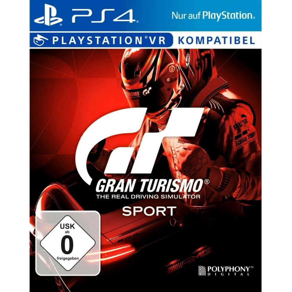 Gran Turismo Sport [PS4 Game] 4 CD Version für 9,99€ (statt 18€)