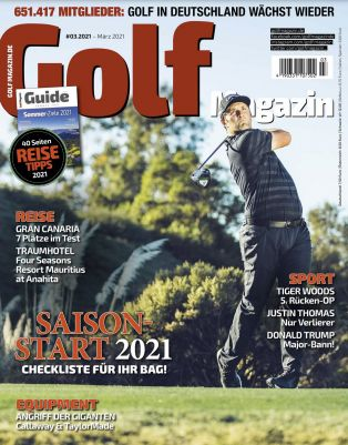 12 Ausgaben GOLFmagazin für direkt reduzierte 4,95€ (statt 96€)