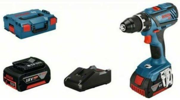 Bosch GSR 18V 28 Akku Bohrschrauber + L Boxx + 2 Akkus 4Ah + Ladegerät für 209,95€ (statt 224€)