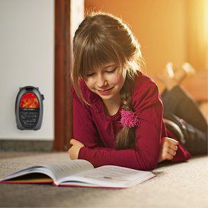EASYmaxx elektrische Mini-Heizung mit Kamin-Optik für 21,89€ (statt 27€)