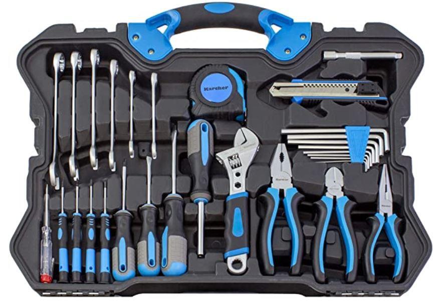 Karcher Werkzeugset 135 tlg. im Koffer für 79,99€ (statt 90€)