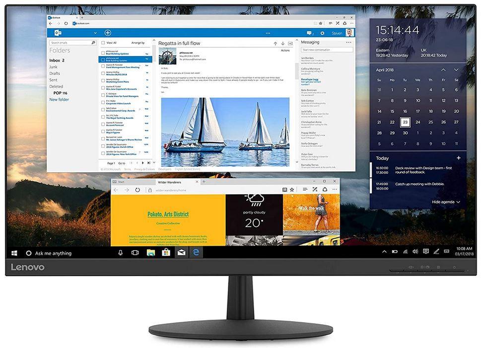 Lenovo L27q 30  27 Zoll QHD Monitor 75Hz für 214,95€ (statt 245€)