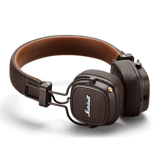 Marshall Major III Bluetooth On-Ear-Kopfhörer in Braun für 74,90€ (statt 98€)