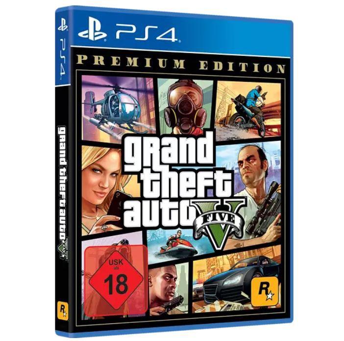 GTA V Premium Edition [PS4] ab 14,95€ (statt 24€)
