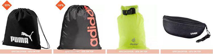 Sportscheck: Bis zu 30% + bis zu 20% Extra Rabatt auf Taschen und Rucksäcke