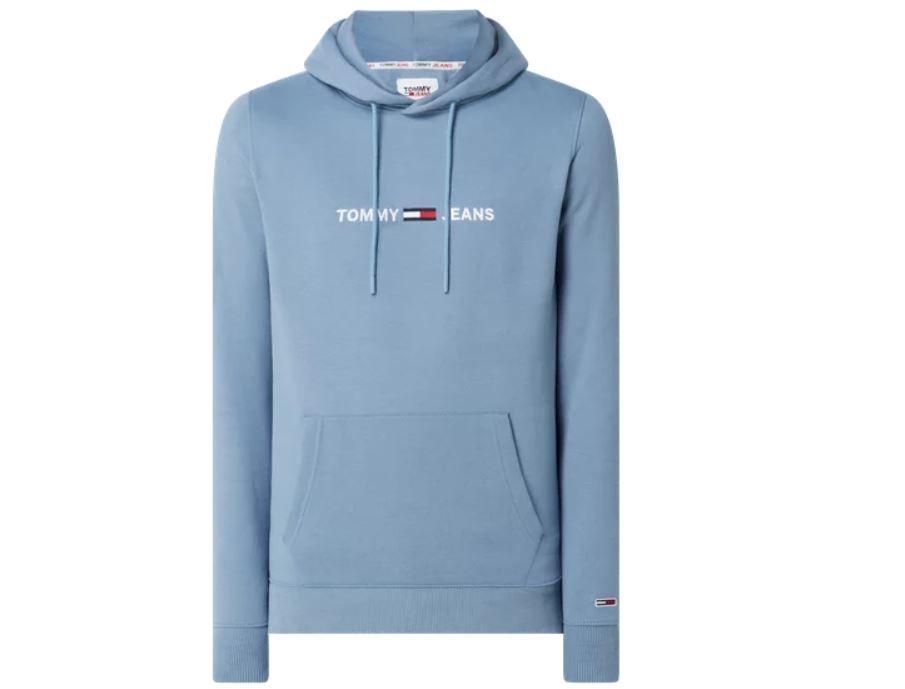 Tommy Jeans Straight Fit Hoodie mit Logo-Print für 62,99€ (statt 99€)