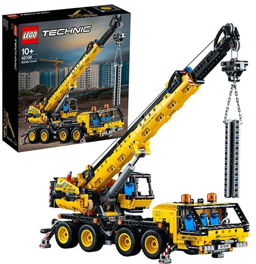 LEGO 42108 Technic Kran auf LKW für 71,99€ (statt 78€)
