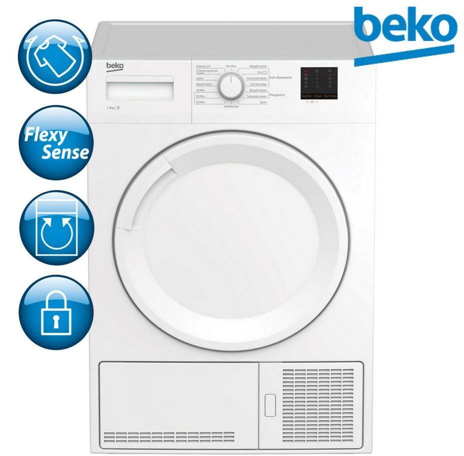 Beko DCU 8230 N Kondenstrockner 8kg für 299,90€ (statt 360€)